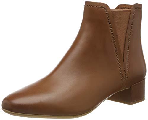 Clarks Damen Orabella Ruby Stiefeletten, Braun (Tan Leather Tan Leather), 39.5 EU