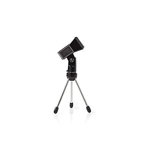 Nedis tafelstandaard voor microfoon of tot 0,8 kg, zwart