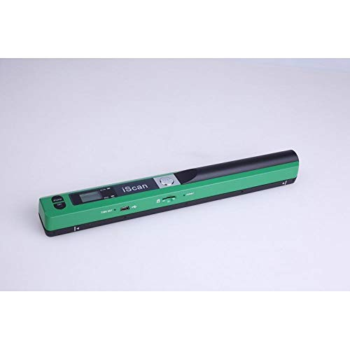 Find Discount Portable Scanner 900DPI Iscan Handheld A4 Document Scanner JPG and PDF Formate Green