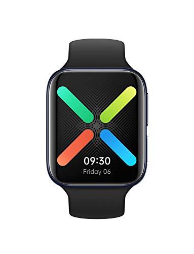 OPPO Watch 46 mm - Vodafone eSIM only - Smartwatch (AMOLED Display, GPS, NFC, LTE, Bluetooth 4.2, WiFi, Wear OS by Google/ColorOS Watch, VOOC Schnellladefunktion), Schwarz