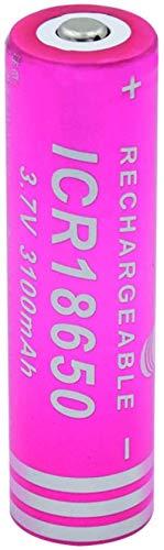 Batería de ión de Litio ICR 18650 de 3.7v 3100mah para el Banco del Poder de la linterna-1piece
