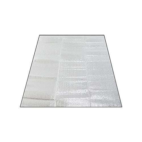 Ultralight Impermeabile Camping Mat Picnic Blanket Beach Materasso Sleeping Pad Alluminio Foil Schiuma Mat Tenda per Esterni Tenda (Color : 200x150CM)