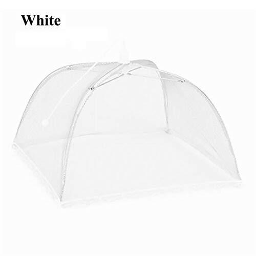 NOLOGO Faltbare Maschensieb-Food-Abdeckung Zelt im Freien Regenschirm Lebensmittel Abdeckungs-Ineinander greifen-Fenster-Zelt-Party-Grill Wiederverwendbare (Color : A)