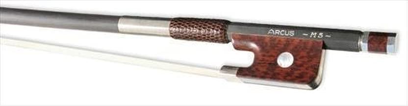 Arcus Cello Bow M5 Round Silver, Carbon Fibre 4/4 Full Size