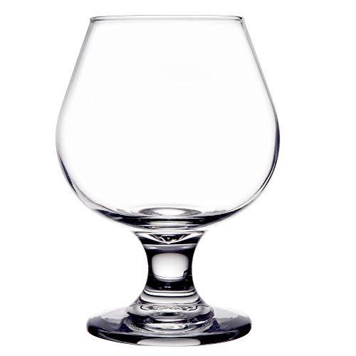 Set of 6 Embassy 9 oz Brandy/Snifter Glass Libbey 3704 w/Signature Cocktail Picks