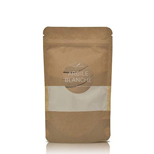 Argile BLANCHE - 100g - Argile Brute 100% naturelle, qualité Premium - Pour la cosmétique maison