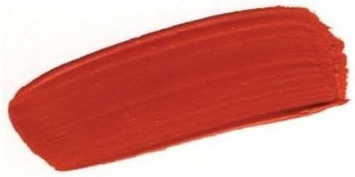 oro 0001100-4 4 oz Pintura de cuerpo pesado Acr-lico - rojo de cadmio mediano