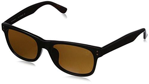 Timberland Sonnenbrille TB9063-F 5501H Occhiali da Sole, Nero (Schwarz), 55 Uomo