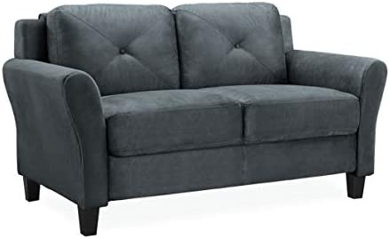 Best Lifestyle Solutions Collection Grayson Micro-fabric Loveseat, 57.87