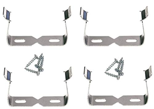 GrenFix Halter für Abzweigsteckdose Steckdosenleiste Halterung Steckdosenhalterung