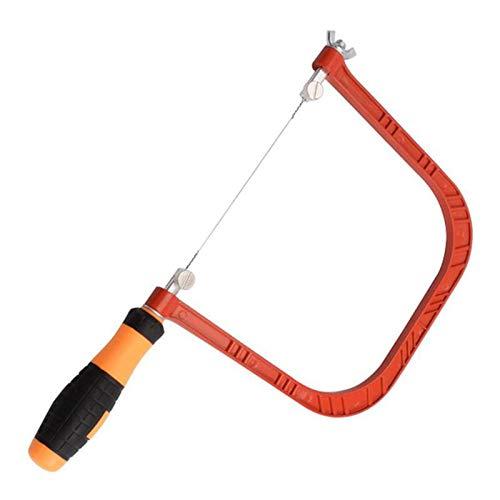 Vogueing Tool Stahldrahtsäge, Drahtsäge Carry Outdoor Mini Kopiersäge 360° drehbarer Griff für Holz, Kunststoff, Knochen, Gummi, weiches Metall und andere Materialien