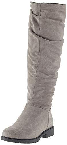 Tamaris Damen 26546-21 Stiefeletten, Grau (Grey 200), 36 EU