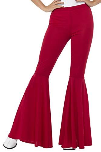 SMIFFYS Pantaloni a zampa, rossi, da donna