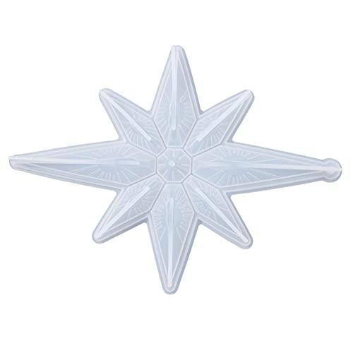 aretes de plata para mujeres aretes,Moldes de fundición de resina de silicona Molde de epoxi de cristal de bricolaje Colgante Joyería de estrella Artesanía hecha a mano Moldes de epoxi de bric