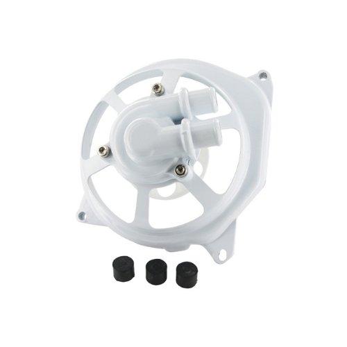 Pompes à Eau Couvercle STR8 Extreme Cut, Minarelli LC, avec roulement pour Roue de Pompes Blanc