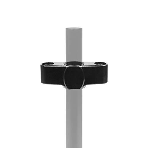 Duronic DM35SPL Conector de Dos Brazos para Soporte para Monitor Compatible con el Brazo DM35 – Color Negro – Acero