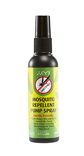 THEYE Natural Powerful Mosquito Repellent/Bug Spray | No Deet | Plant-Based & Alcohol Free | Ideal Bug Spray for Kids