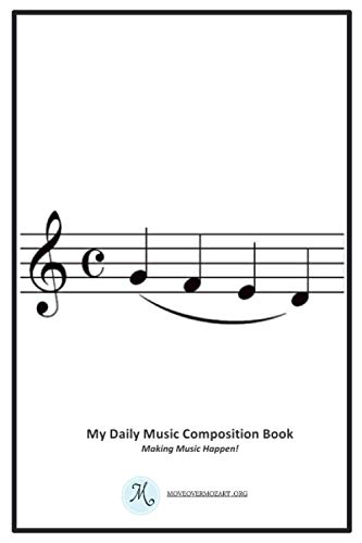My Daily Music Composition Book