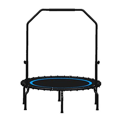 Vouwen Fitness Trampoline voor Volwassenen Kinderen met Handvat | Outdoor Indoor Trampoline Rebounder | Bungee Beginners Bungee Rope System | Aerobic Bouncer Workout Cardio Fitness Trainer