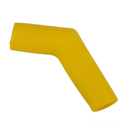 Rubber Shifter Sock Peg Lever Shift Cover Boot Shoe Protector For Motorcycle Bike Atv Shifters (Yellow)