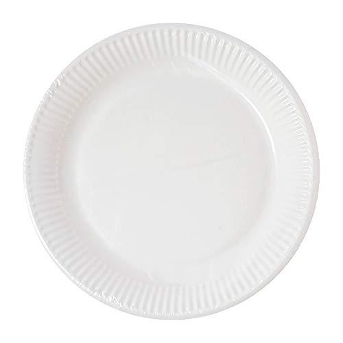 Procos 10201155 White Paper Plates 20 cm