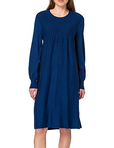 Noa Viscose Knit Abito Casual, Estate Blue, S Donna