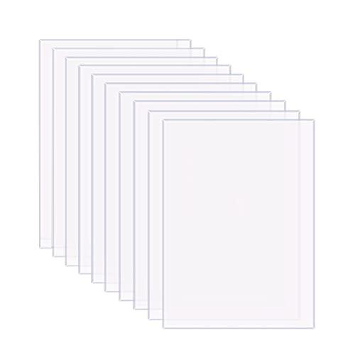 FGXY 10 Pezzi Lastra Acrilica Trasparente In Plexiglass, 150x100x2 MM, Vetro Acrilico Pannelli In Acrilico, Per Sostituzione Del Vetro Cornice, Tavolo Segni, Calligrafia, Vetri Di Sicurezza In Perspex