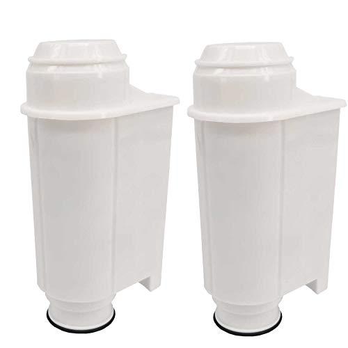 Wasserfilter-Patronen passend für Kaffeemaschinen Saeco-Philipps-Intenza, Lavazza Gaggia, Saeco CA6702/00 2 Stück