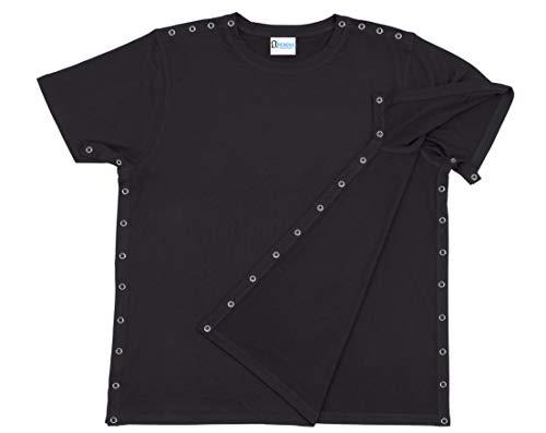 Post Shoulder Surgery Shirt - Men's - Women's - Unisex Sizing Black