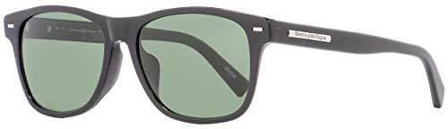 Ermenegildo Zegna Sonnenbrille EZ0020-F Gafas de sol, Negro (Schwarz), 56.0 para Hombre