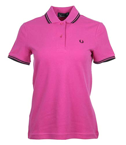 Fred Perry Damen Polo - Pink - G3600 (Pink, 40)