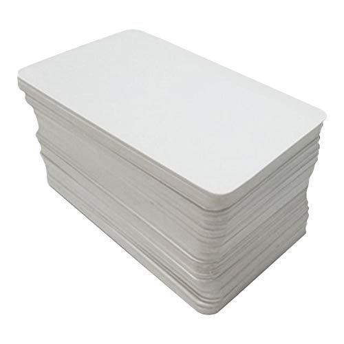 Schildeng 200 Blatt Blanko Spielkarte DIY Brettspiel Hartes Papier Kartenpapier
