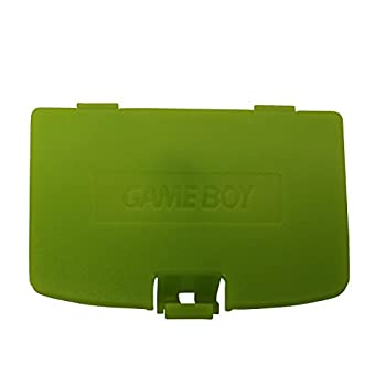 eJiasu GBC Repair Battery Cover Plastic Repair Back Cover Parts Replacement Battery Door Cover for GBC Gameboy Color System  1PC-Green