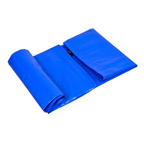 Bâche de Protection Épaisse Couvrant La Pluie Imperméable À l'eau Sunscreen en Plastique Tissu Anti-Pluie Couleur Bande Canopy Truck 3 * 3M (Size : 5M×5M)