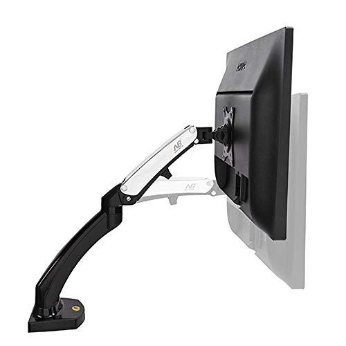 Soportes de Pared para TV Soporte de Resorte de Gas para televisión de Movimiento Completo Soporte de Monitor de Pantalla Dual de 17'-27' Telescópico Giratorio Elevación hacia Arriba y hacia Abajo de