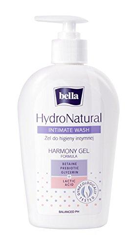 Bella Intimpflege-Waschgel Hydronatural: Intimwaschgel Mit Betain, 5er Pack (5 X 300 Ml) Hautverträgliche, Sanfte Pflege