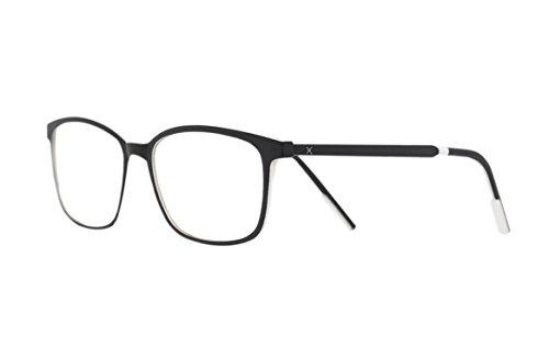 PIXEL LENS CITY occhiali PC, TV, Gaming, comfort visivo, contro stanchezza occhi, montatura ultra leggera Acciaio-TR90, RIDUZIONE LUCE BLU 41% e UV 100% certificata Università Torino. Filtro Monitor