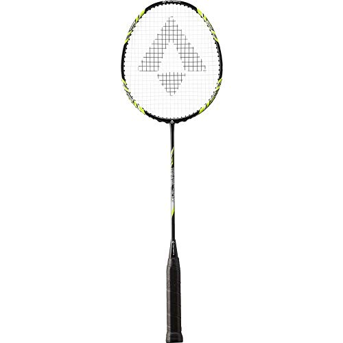 TECNOPRO Herren Tri-Tec 300 Badmintonschläger, Black/Yellow/White, 3 1/2