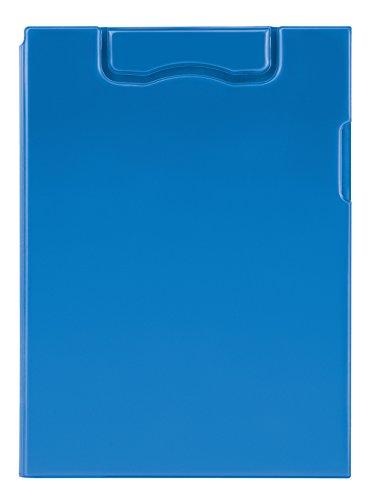 magnetoplan 1131603 magnetische klembord A4, blauw ook in zwart naar keuze met transparante insteekhoes