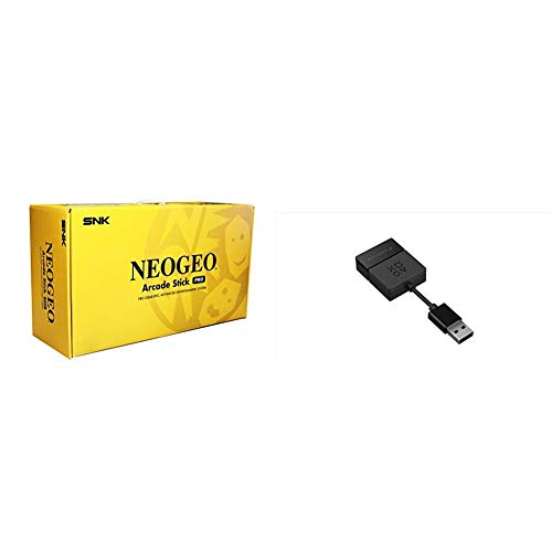 Neo Geo Arcade Stick Pro + Adaptateur USB Game Linq pour Switch/PS4/PS3