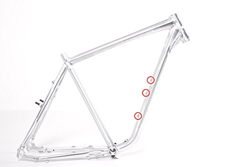 Cuadro para bicicleta de hombre, 28'', pulido