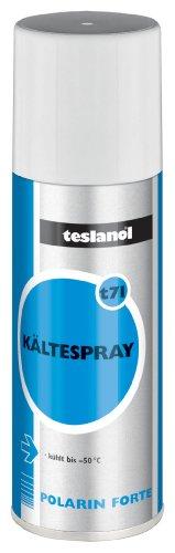 Teslanol 26034 Kältespray zur Kühlung von Bauteilen für schnelle Ortung von thermischen Fehlern - 400 ml