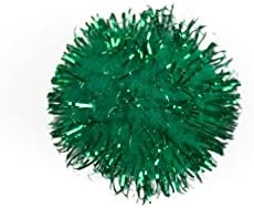 Craft Factory Glitter Pom Poms Green 12 - per Cheap super special price pack of NEW before selling ☆