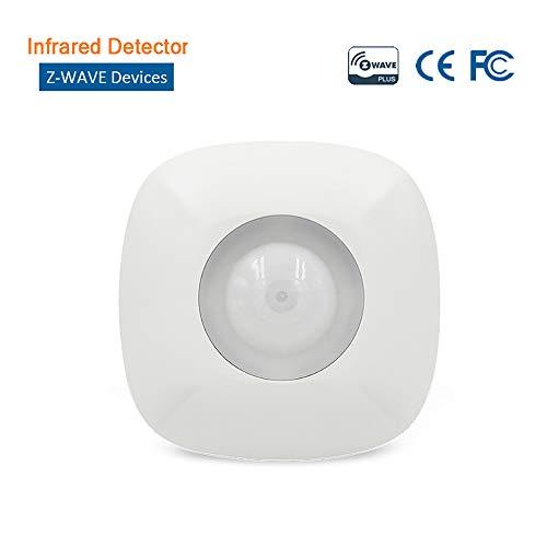 Infraroodsensor aan het plafond Z-Wave bewegingsmelder Wireless PIR-bewegingssensor alarm anti-rolmechanisme afscheuring accessoire voor intelligente huisalarmsystemen
