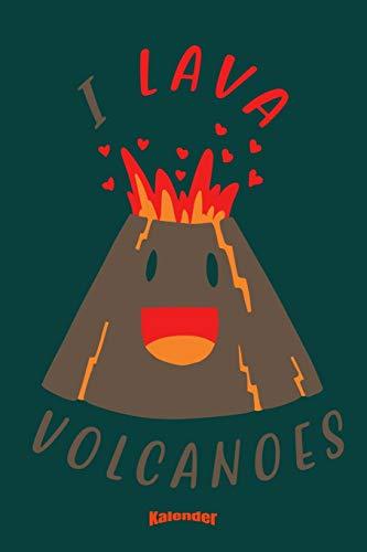 Mein Süßer Vulkanologen Kalender: Kalender für Geologen, Geographie Lehrer, Vulkanologie Studenten, Vulkan und Vulkanismus Fans und Lava Liebhaber mit ... 6 x 9 (ca. DIN A5) und Hochglanz Softcover