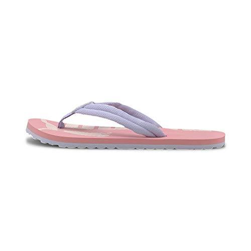 PUMA Epic Flip V2 JR, Zapatos de Playa y Piscina Unisex Adulto, Rosa (Peony/Purple Heather 25), 38 EU