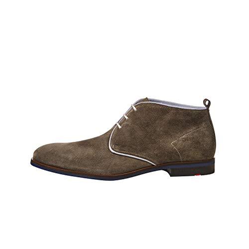 LLOYD Herren Stiefeletten SABA, Männer Desert Boots,Stiefel,halbstiefel,schnürboots,Bootie,maennlich,Men's,flach,Men,Man,Bison,40 EU / 6.5 UK