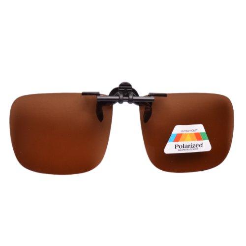 Eyekepper Grote gepolariseerde Flip up zonnebril Clip op