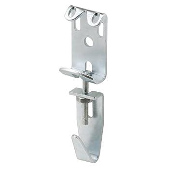 Prime-Line U 9131 Picture & Mirror Hanger 2-7/8 in to 3-11/16 in Adjustable Steel Heavy Duty  Pack of 2
