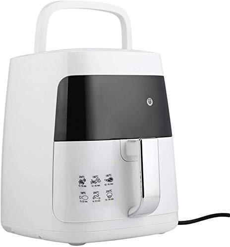 RUXMY Home Air Fryer, 110V 220V 1200W Haushaltsölfreie elektrische Friteuse mit Temperaturregelung und 60-Minuten-Timer für gesundes, fettarmes Kochen, Backen und Grillen